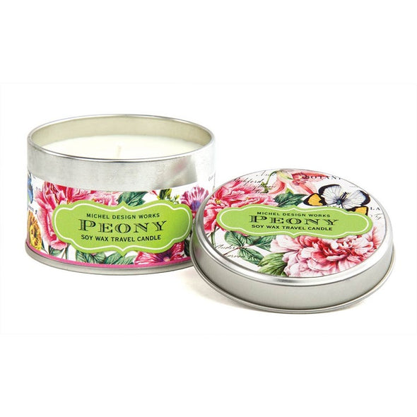 Peony Travel Candle