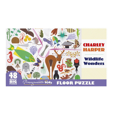 Charley Harper 'Wildlife Wonders'  Kids Puzzle