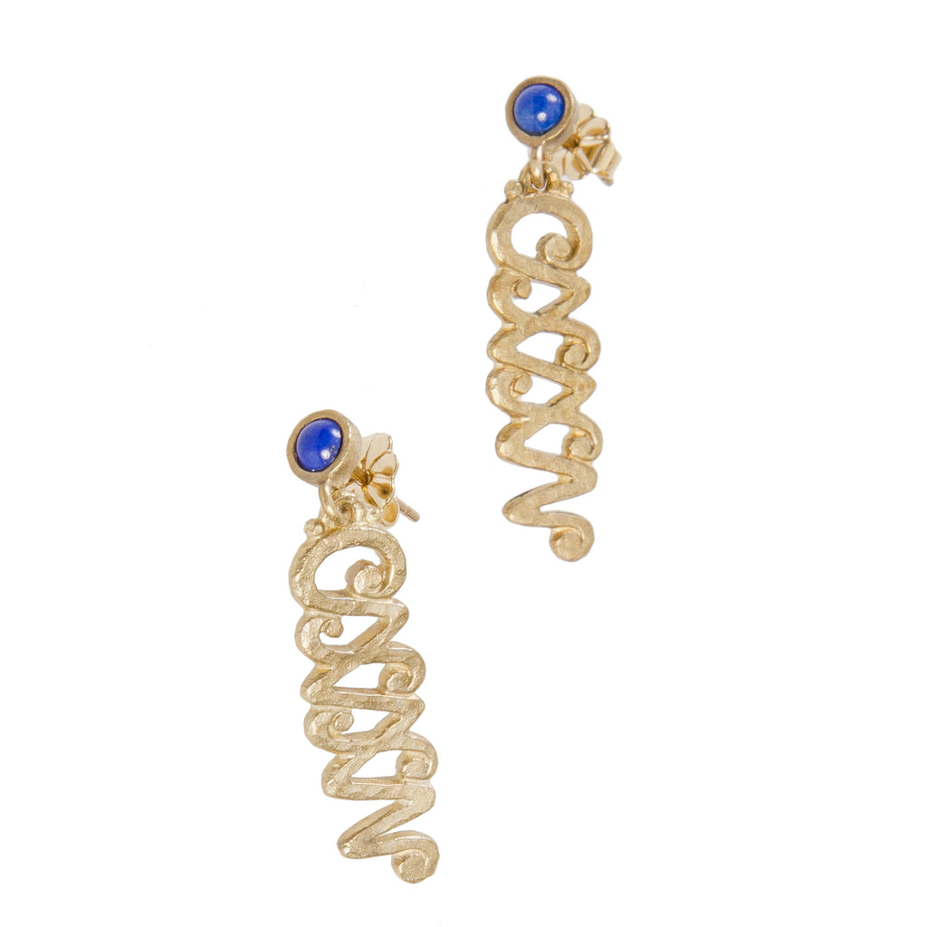 Michael Graves CXXV Earrings - 14K Gold