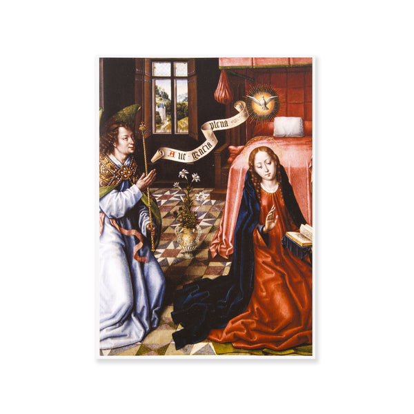 The Triptych of the Annunciation Holiday Card Set
