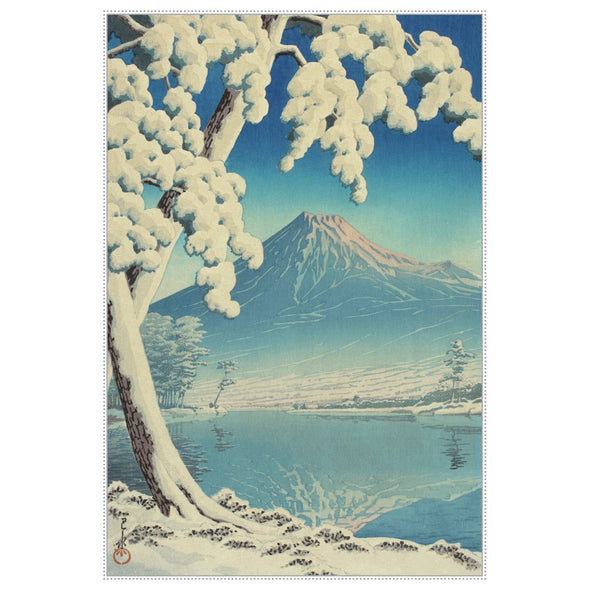 Hasui: Fuji in Clear Weather Holiday Card Set