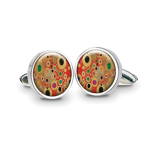 Klimt Cuff Links