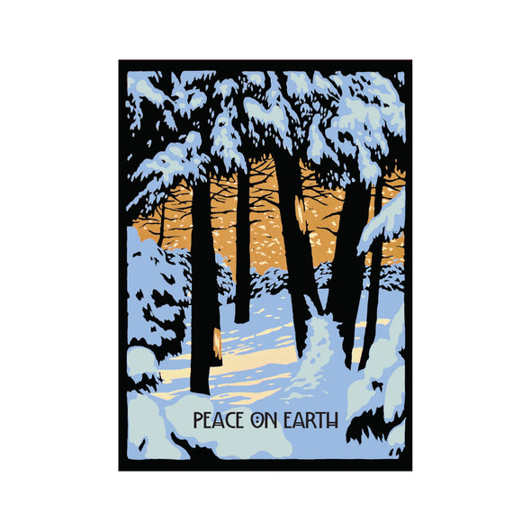 Peace on Earth Holiday Card Set