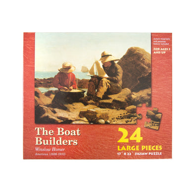 Winslow Homer 'The Boat Builders' Kid's Puzzle