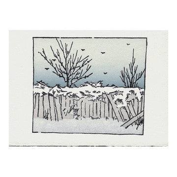 Winter Landscape Holiday Card Set