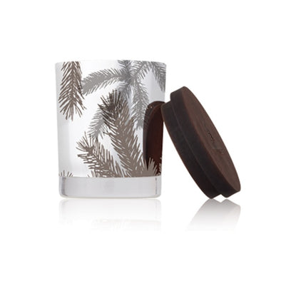 Frasier Fir Small Silver Candle