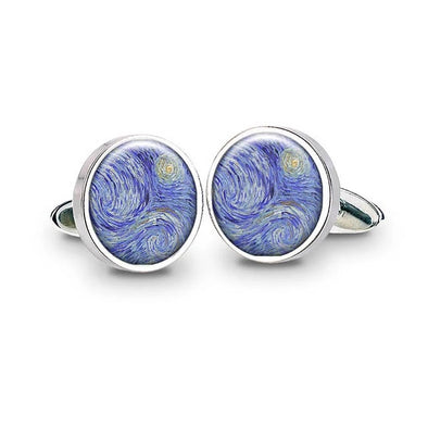 Van Gogh Starry Night Cufflinks