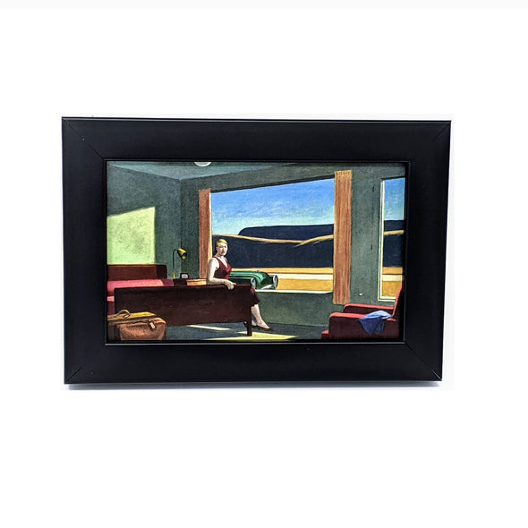 Edward Hopper 'Western Motel' Framed Mini-Print