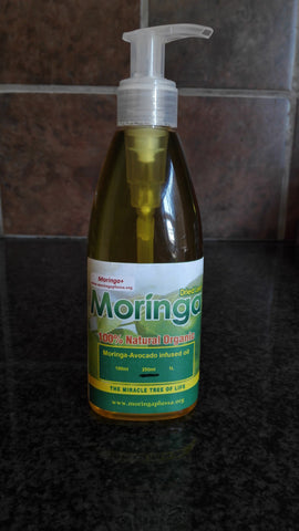 Moringa-Avocado Infused Oil 250ml