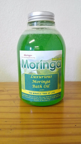Luxurious Moringa Bath Oil