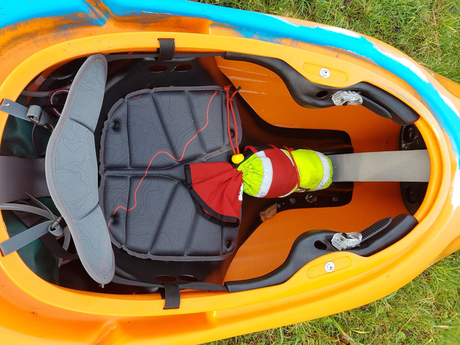 White Water Kayak outfitting - Get yourself connected