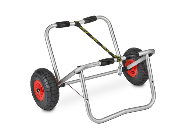 Eckla Explorer 260 Canoe Cart, with support stand