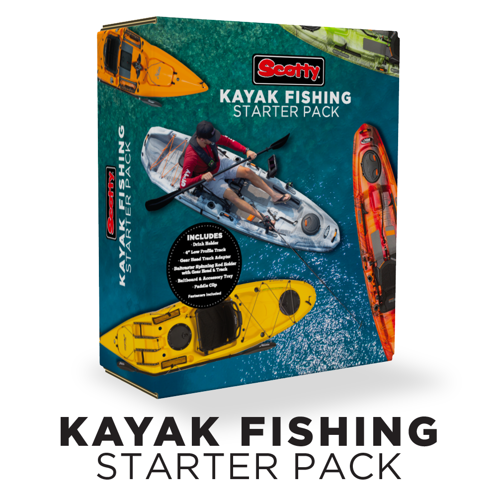 Scotty 111 Kayak Fishing Starter Pack