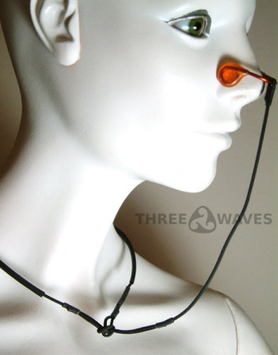Three Waves Nose Clip with Neck Cord