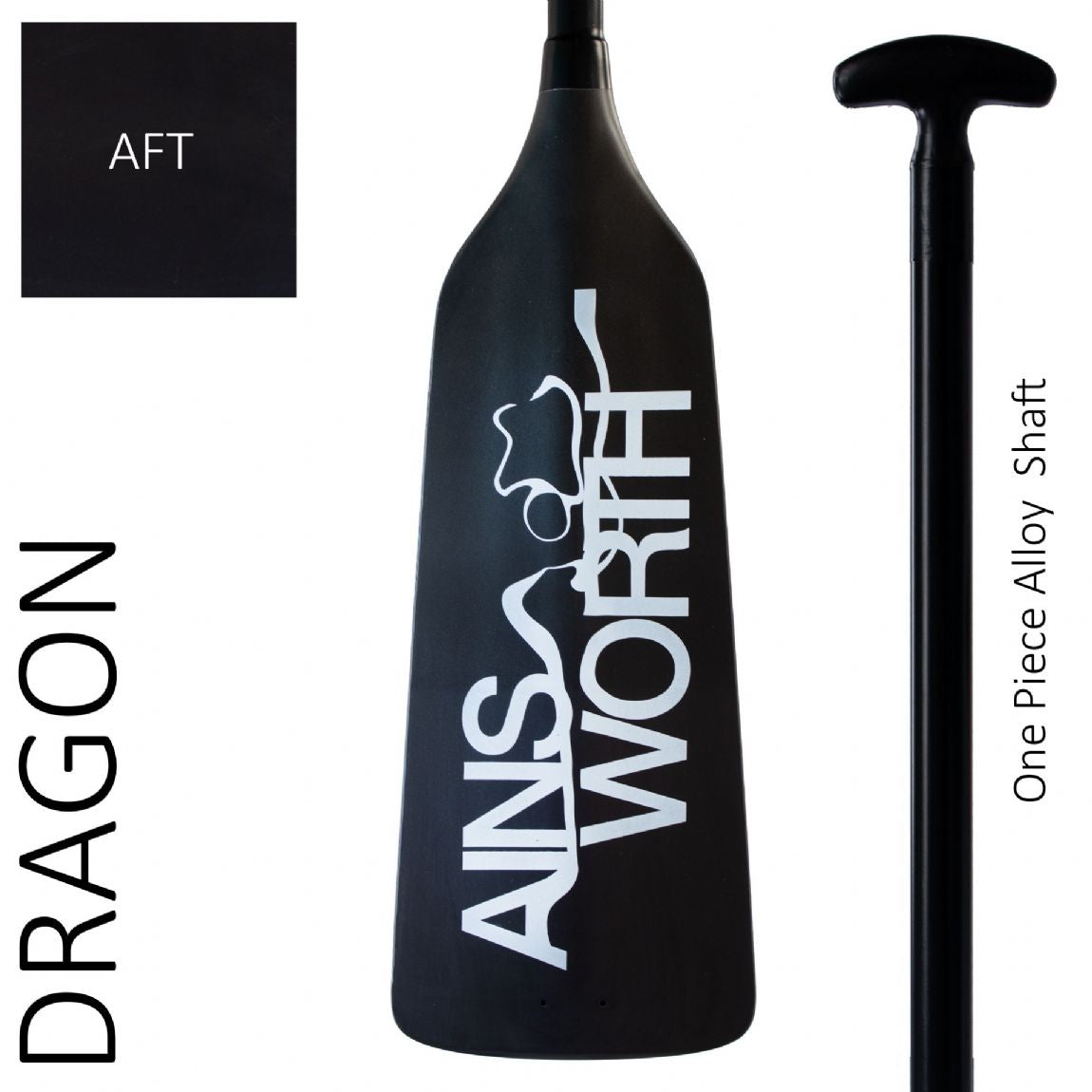 Ainsworth Dragon Boat Paddle (AFT) One Piece Alloy