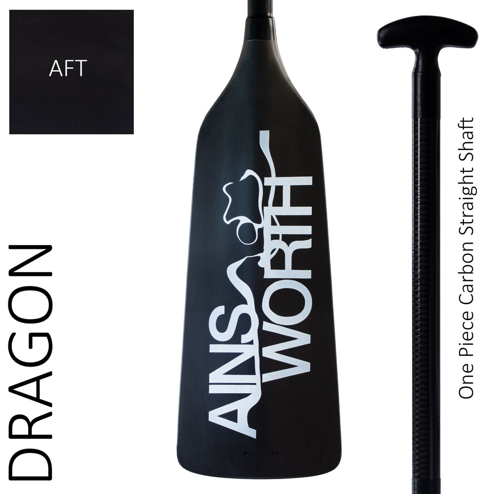 Ainsworth Dragon Boat Paddle (AFT) One Piece Carbon