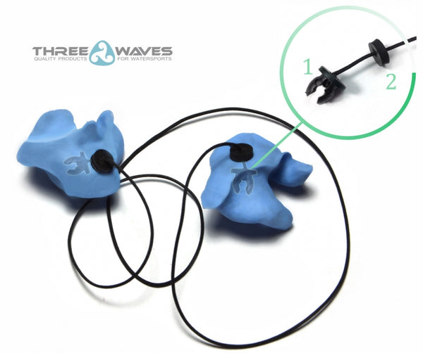 Three Waves Loss Prevention String for Ear Plugs