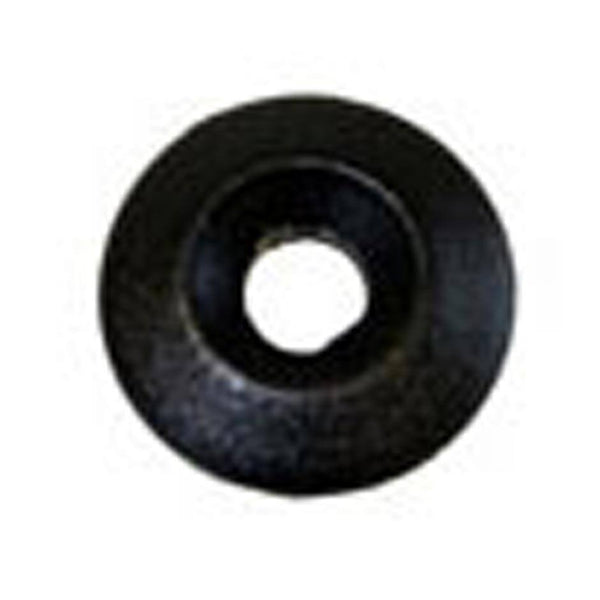 None - 6mm Black Plastic Washer - Pack Of 6