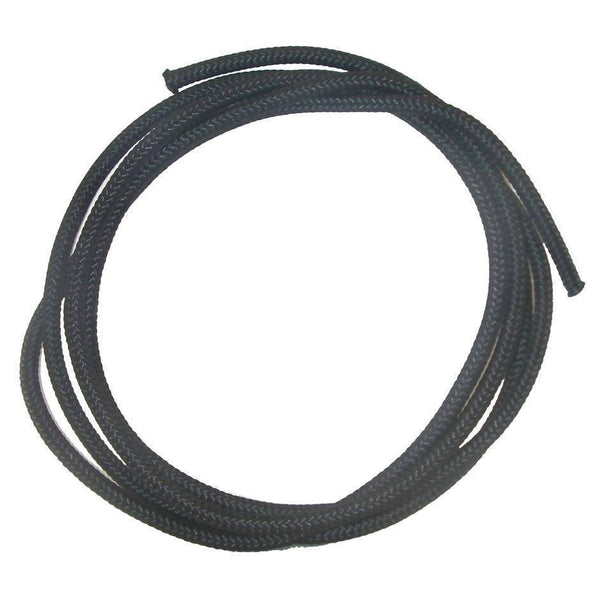 None - Braided Cord Black 2mm - 5Mtr