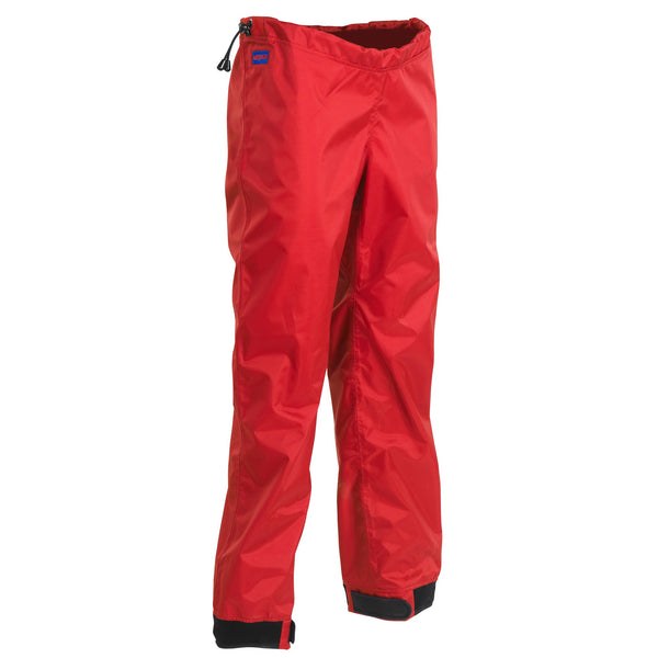None - Palm Centre Pant Red