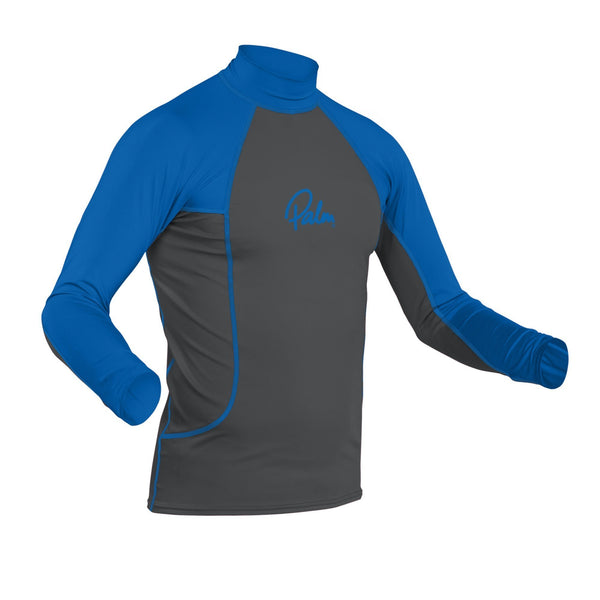 None - Palm Rash Guard Mens Longsleeve