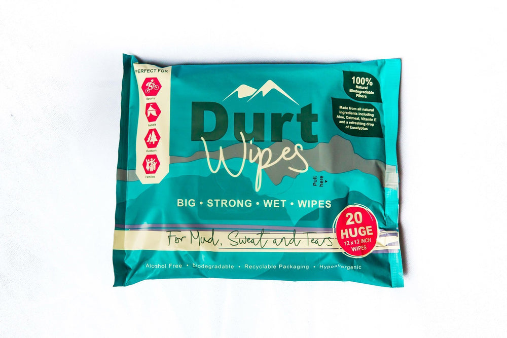 DurtWipes, 20 Pack
