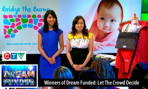 Bridge the Bump Winners of CTV's Reality Show Dream Funded