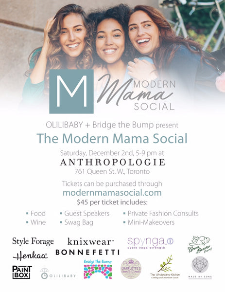 Bridge the Bump Modern Mama Social Anthropologie