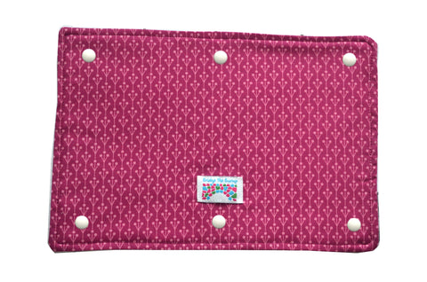 Coat Extension Drool Shield Accessory for Babywearing - Plum Pudding