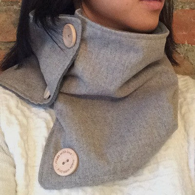 Bridge the Bump Fleece-Lined Neckwarmer