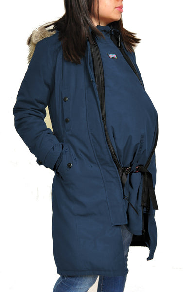 Bridge the Bump Coat Extensions Zip Into Your Coat for Pregnancy or Babywearing