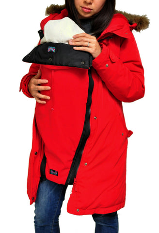 552d3c82f Coat Extensions Zip Into Your Own Coat for Pregnancy and Babywearing ...