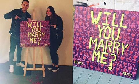 will you marry me, proposel, marimba , wedding, cool proposal, the coolest proposal