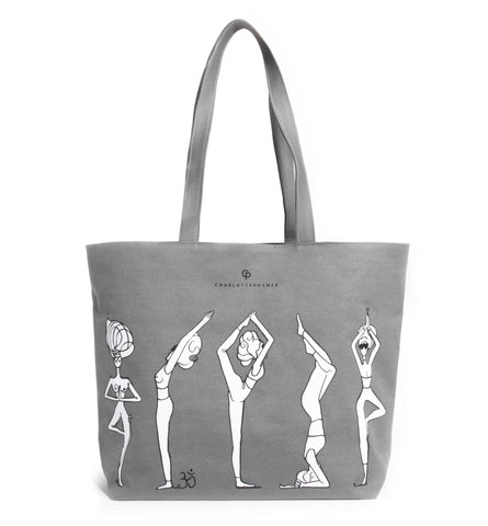 YOGA GIRLS TOTE BAG - Charlotte Posner