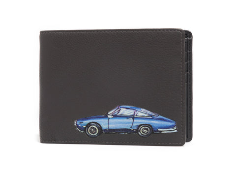 CLASSIC CARS LEATHER WALLET - Charlotte Posner
