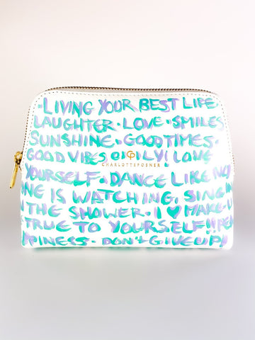 LOVE YOURSELF HAND PAINTED BAG