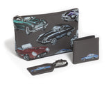 CLASSIC CAR LEATHER TOILETRY BAG