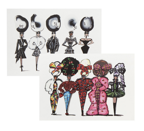 Pop dolls, paintings - Charlotte Posner