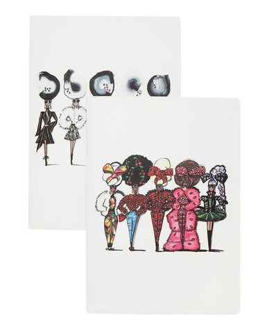 A5 FASHION NOTEBOOK SET - Charlotte Posner