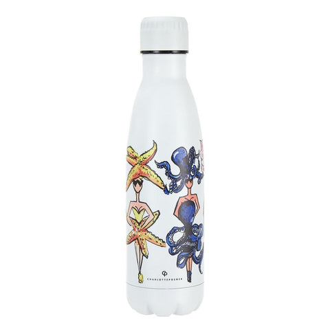 SEA CREATURES WATER BOTTLE - Charlotte Posner