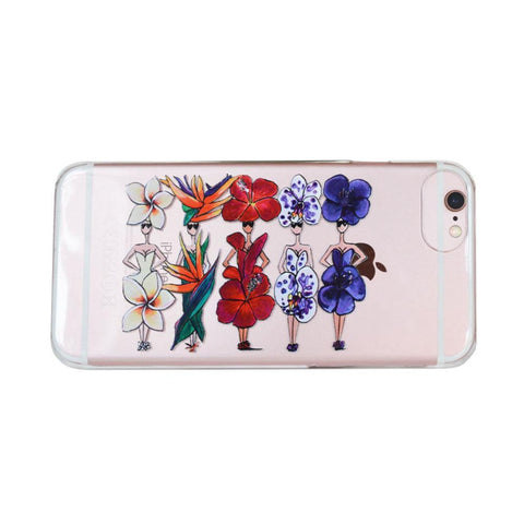 TROPICAL FLOWERS IPHONE CASE - Charlotte Posner