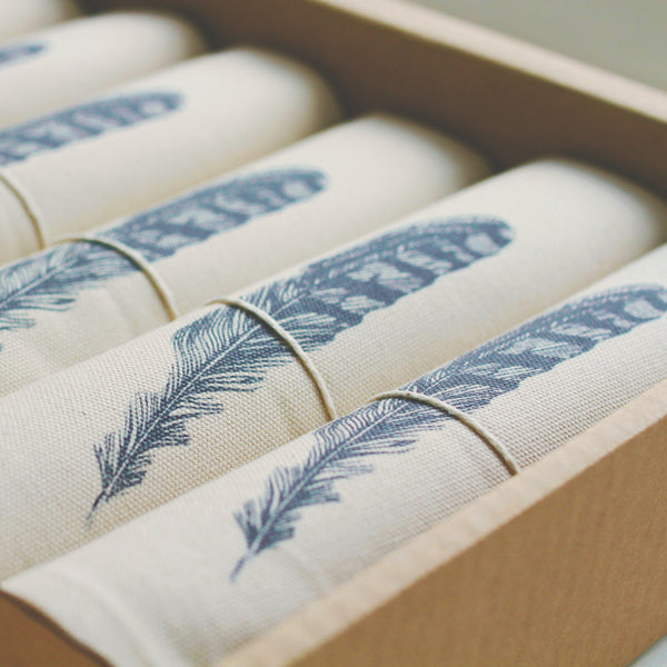 Feather Napkins