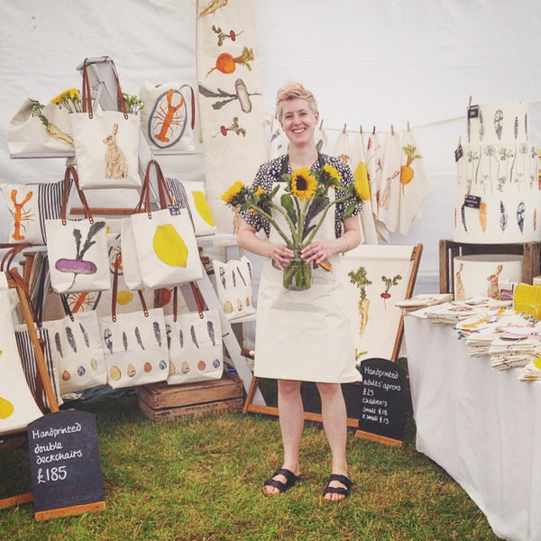 Lottie Day Screenprinted Textiles Royal Norfolk Show
