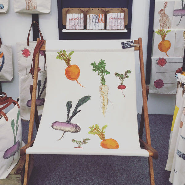 Handmade Allotment Double Deck Chair