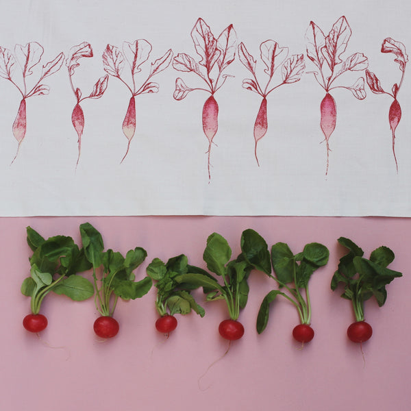 Radish Tea Towel