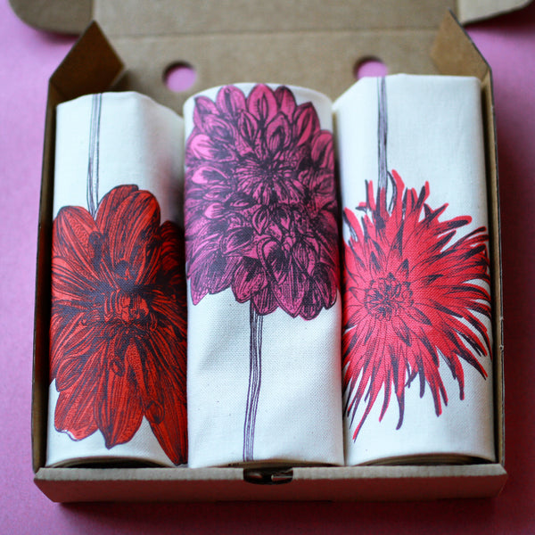 Dahlia Tea Towel