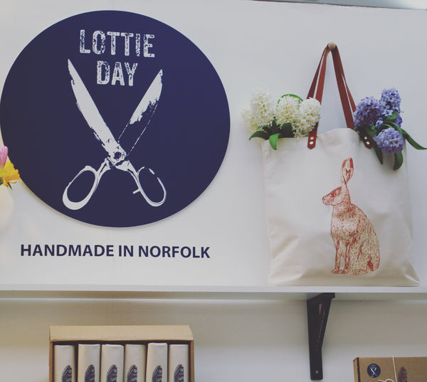 Lottie Day Hare Shopping Bag