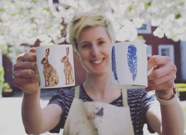 Lottie Day Screen Printed Mugs