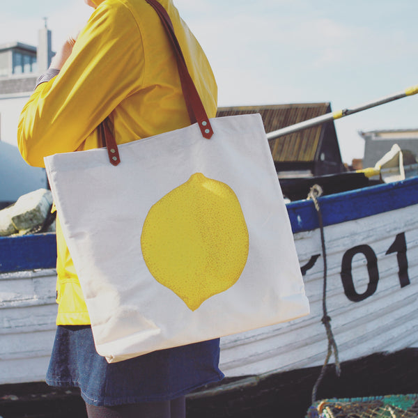 Lemon Shopping Bag
