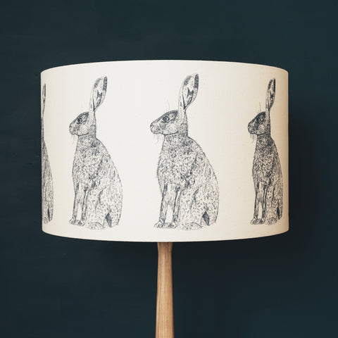 Grey Hare Lampshade